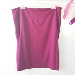 Size L   J. Jill Wearever Smooth-fit Pencil Skirt